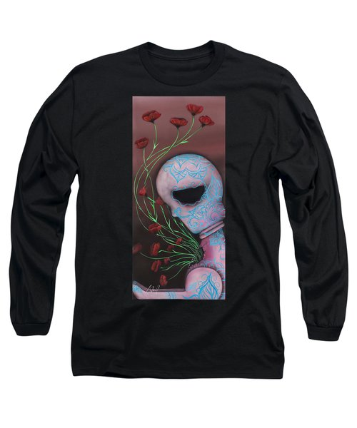 New Life Long Sleeve T-Shirt by Abril Andrade Griffith