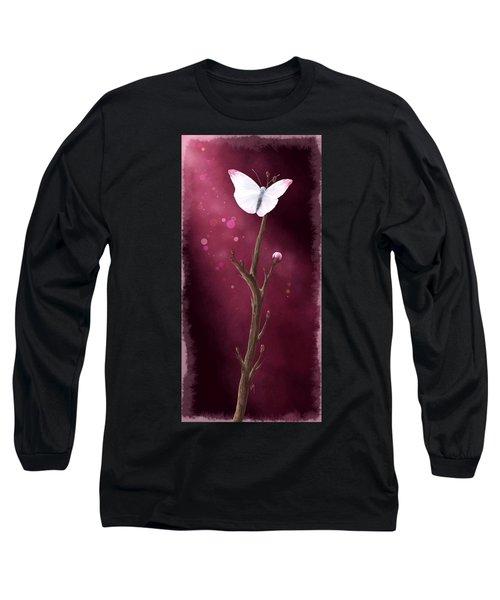 New Life Long Sleeve T-Shirt by Veronica Minozzi