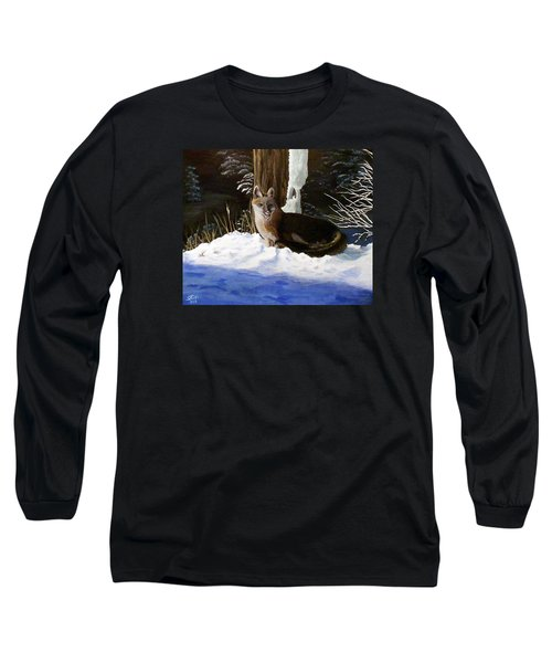 New Mexico Swift Fox Long Sleeve T-Shirt by Sheri Keith