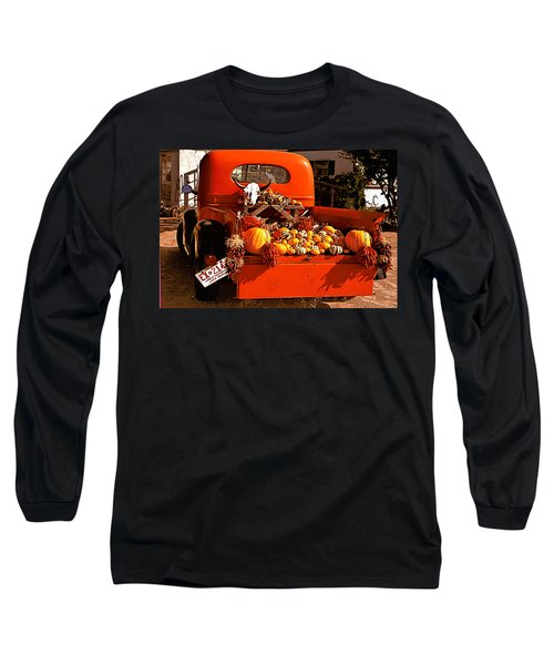 New Mexico Truck Long Sleeve T-Shirt by Jean Noren