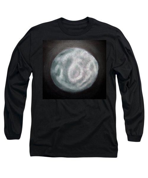 New Moon Long Sleeve T-Shirt by Joel Loftus