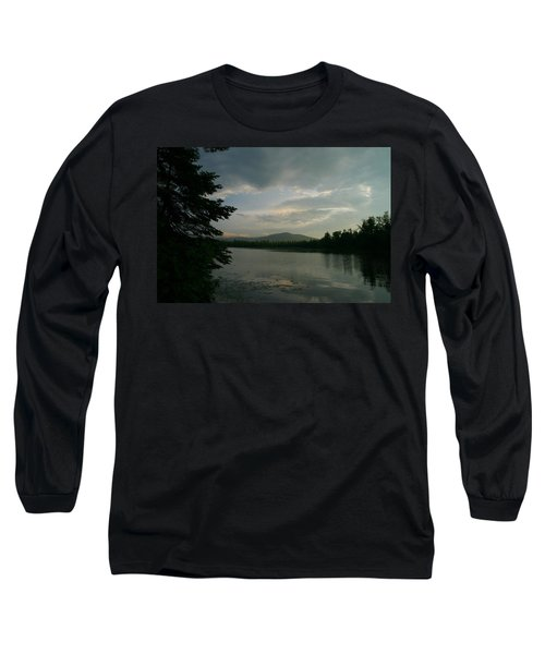 New Morning On Lake Umbagog  Long Sleeve T-Shirt by Neal Eslinger