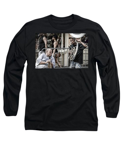 New Orleans Street Jam Long Sleeve T-Shirt