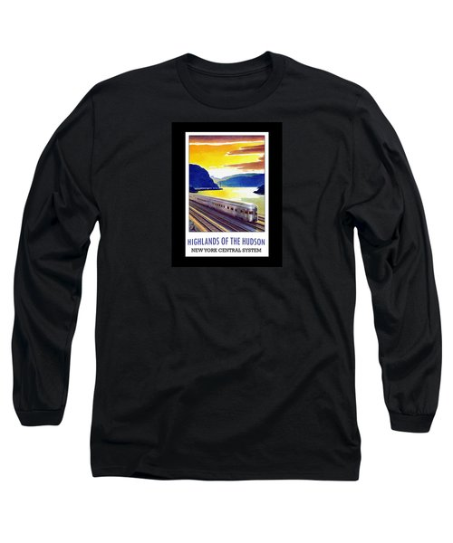New York Central Vintage Poster Long Sleeve T-Shirt