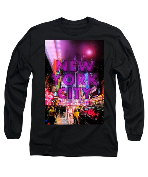 New York City - Color Long Sleeve T-Shirt