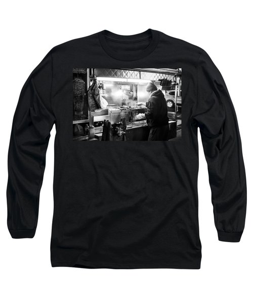 New York City Street Vendor Long Sleeve T-Shirt