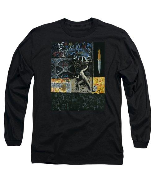New York City Long Sleeve T-Shirt by Yelena Tylkina
