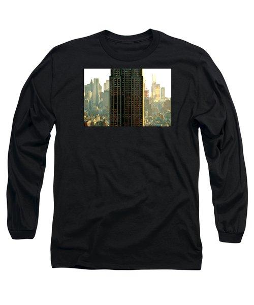 New York Scraper Long Sleeve T-Shirt