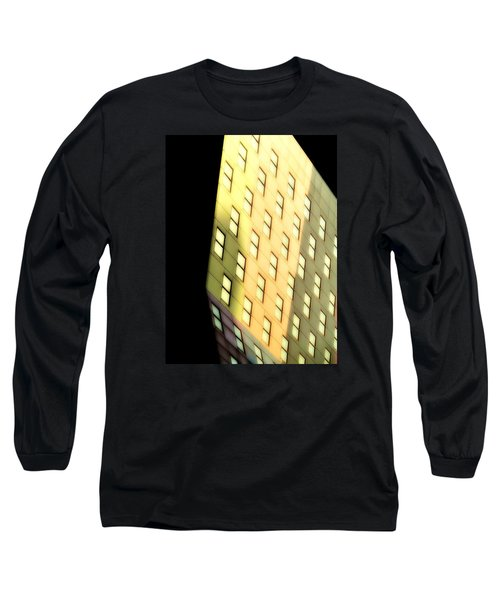 Long Sleeve T-Shirt featuring the photograph New York Sunset by Newel Hunter