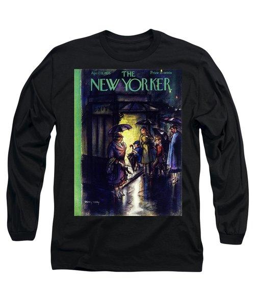 New Yorker April 13 1935 Long Sleeve T-Shirt