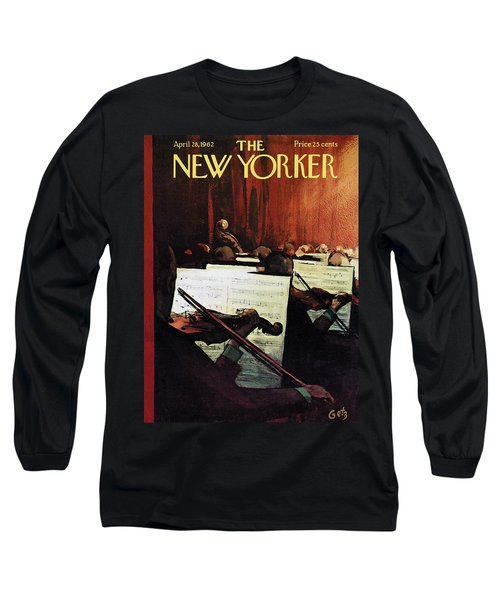 New Yorker April 28th, 1962 Long Sleeve T-Shirt