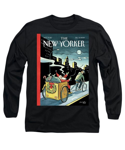 New Yorker December 15, 2008 Long Sleeve T-Shirt