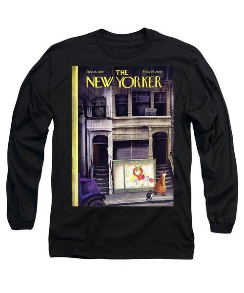 New Yorker December 16 1939 Long Sleeve T-Shirt