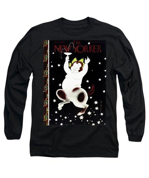 New Yorker December 30 1933 Long Sleeve T-Shirt