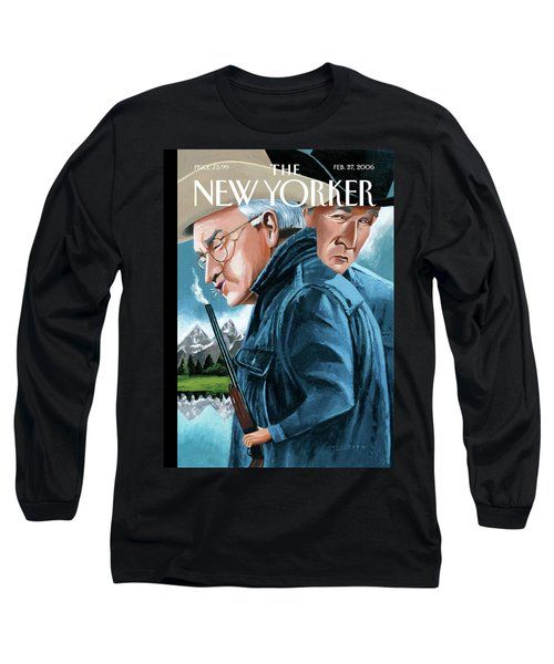 New Yorker February 27th, 2006 Long Sleeve T-Shirt