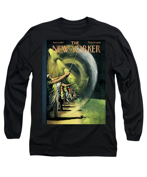 New Yorker June 15th, 1957 Long Sleeve T-Shirt