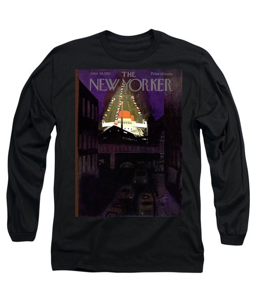 New Yorker June 28th, 1952 Long Sleeve T-Shirt
