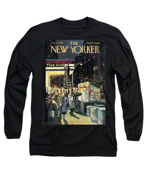 New Yorker November 22nd, 1958 Long Sleeve T-Shirt