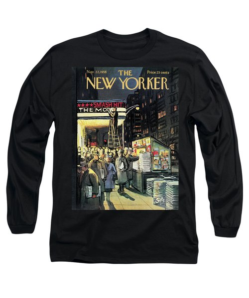 New Yorker November 22nd, 1958 Long Sleeve T-Shirt