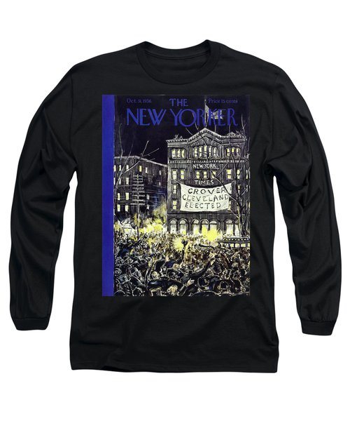 New Yorker October 31 1936 Long Sleeve T-Shirt