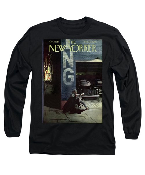 New Yorker October 5th, 1957 Long Sleeve T-Shirt