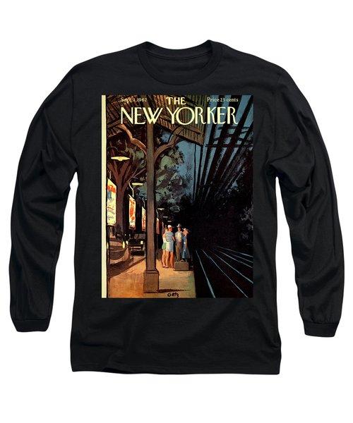 New Yorker September 1st, 1962 Long Sleeve T-Shirt