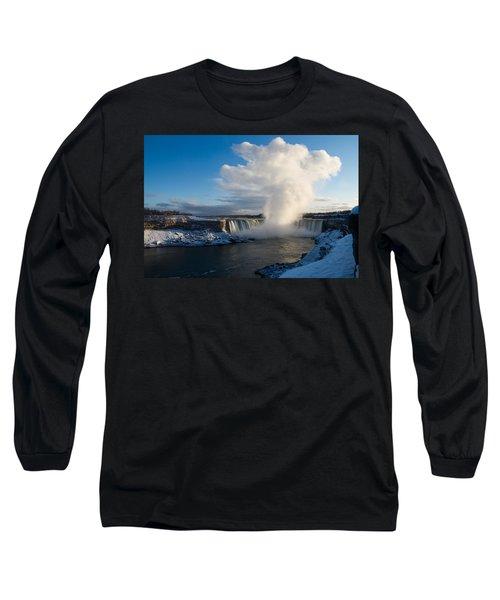 Niagara Falls Makes Its Own Weather Long Sleeve T-Shirt
