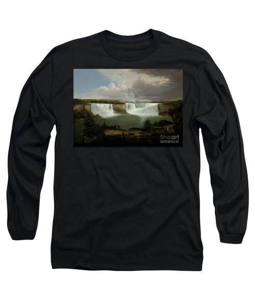 Niagra Falls By Alvan Fisher Long Sleeve T-Shirt