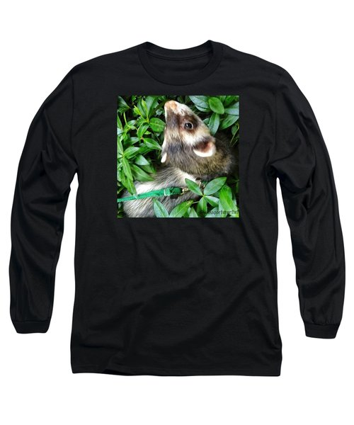 Nicky In The Garden Long Sleeve T-Shirt