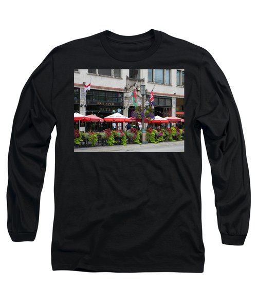 Nicollet Ave. Restaurant 2 Minneapolis Long Sleeve T-Shirt