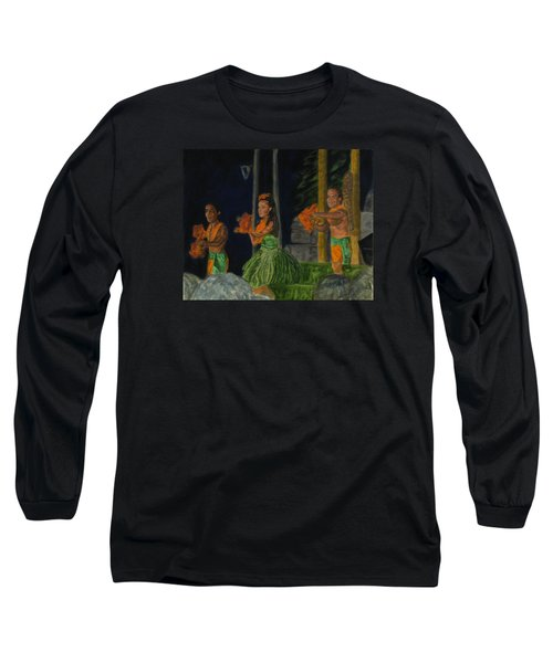 Night At The Luau Long Sleeve T-Shirt