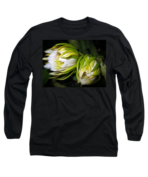 Night Blooming Cereus 31 Long Sleeve T-Shirt