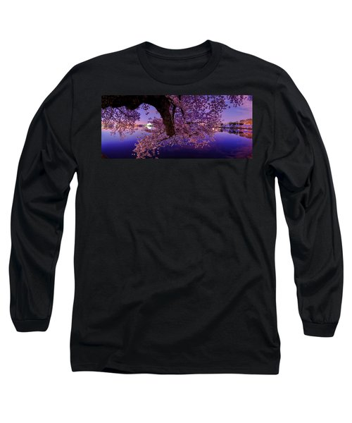 Night Blossoms Long Sleeve T-Shirt