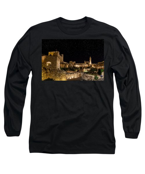 Night In The Old City Long Sleeve T-Shirt