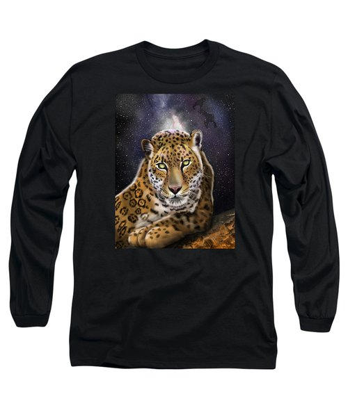 Fourth Of The Big Cat Series - Leopard Long Sleeve T-Shirt