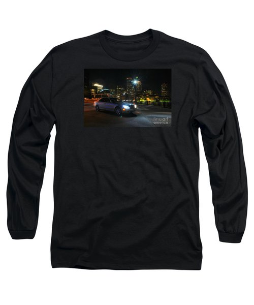 Night Out In Boston Long Sleeve T-Shirt
