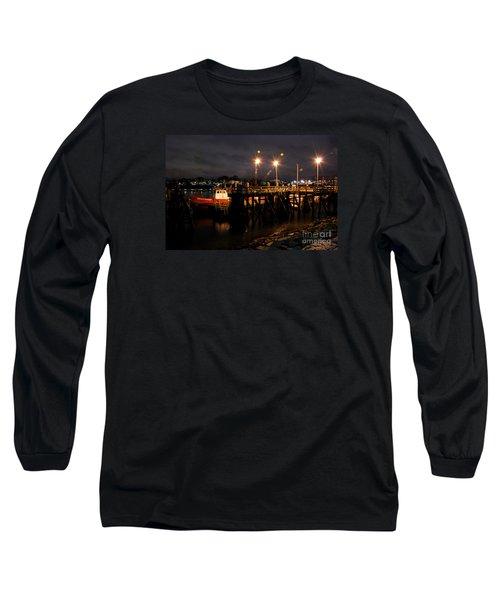 Night Pier Long Sleeve T-Shirt