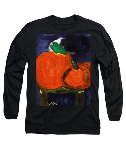 Night Pumpkins Long Sleeve T-Shirt