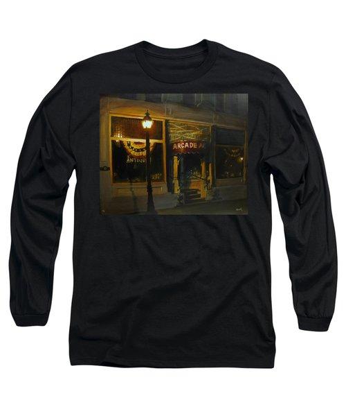 Night Time Long Sleeve T-Shirt