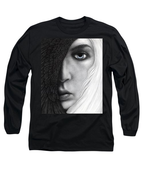 Long Sleeve T-Shirt featuring the painting Night Vision by Pat Erickson