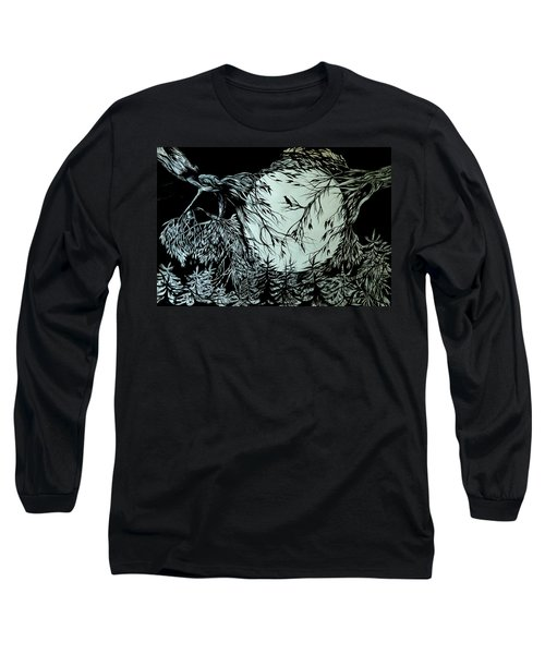 Nightingale Song. Part Three Long Sleeve T-Shirt