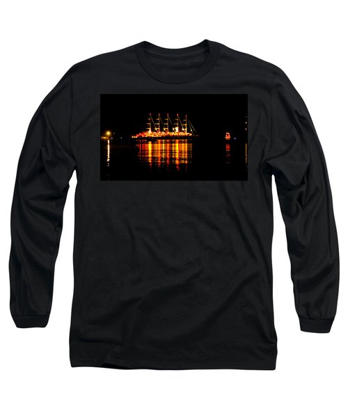Nightlife On The Water Long Sleeve T-Shirt