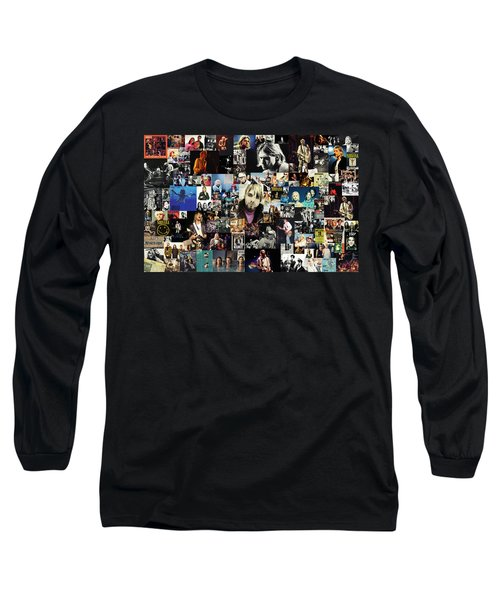 Nirvana Collage Long Sleeve T-Shirt