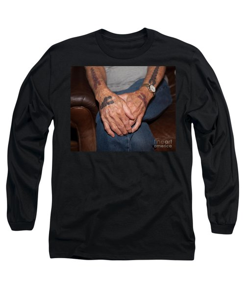 Long Sleeve T-Shirt featuring the photograph No Age Limit by Roselynne Broussard