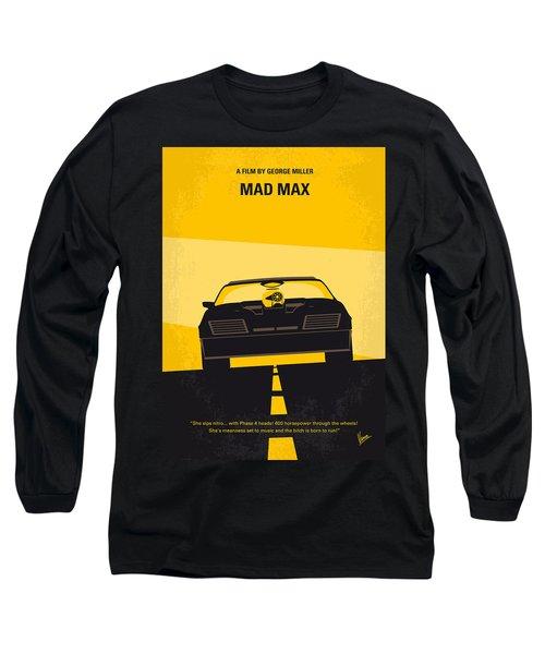 No051 My Mad Max Minimal Movie Poster Long Sleeve T-Shirt