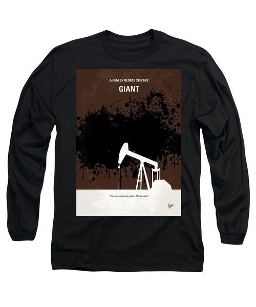 No102 My Giant Minimal Movie Poster Long Sleeve T-Shirt