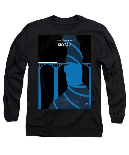 No277-007-2 My Skyfall Minimal Movie Poster Long Sleeve T-Shirt