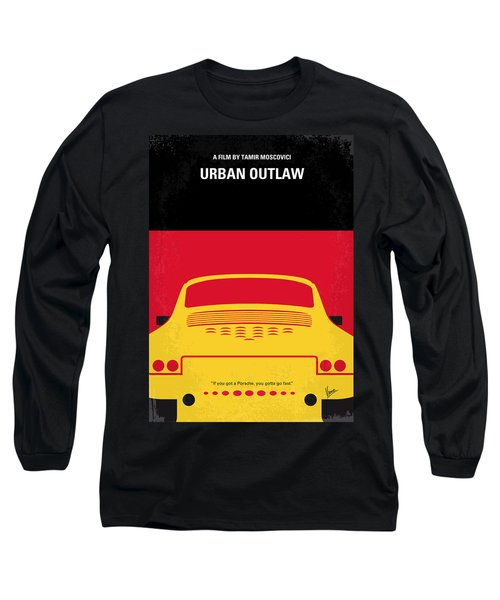 No316 My Urban Outlaw Minimal Movie Poster Long Sleeve T-Shirt