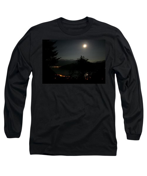 Nocturne In Switzerland Long Sleeve T-Shirt