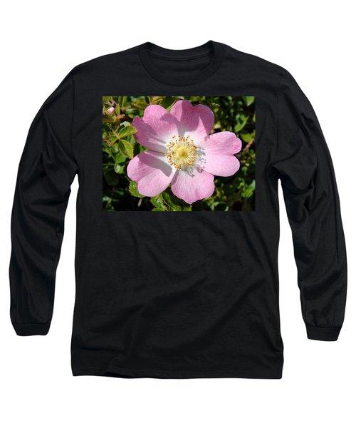 Nootka Rose Long Sleeve T-Shirt